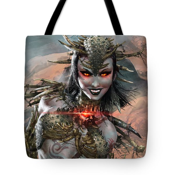 Duels Of The Planeswalkers 2014 Persona Ten Tote Bag