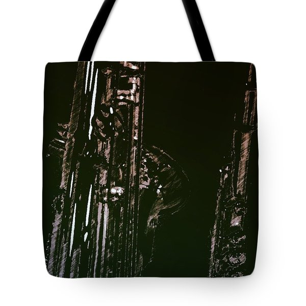 Tote Bag featuring the photograph Duet by Photographic Arts And Design Studio