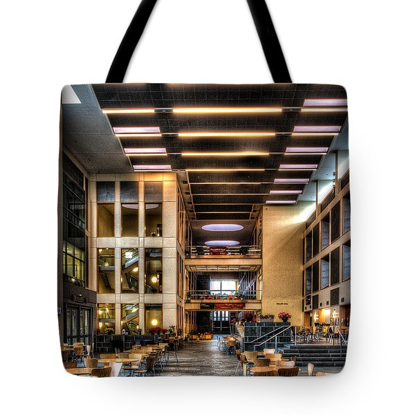 Duffield Hall Cornell University Tote Bag