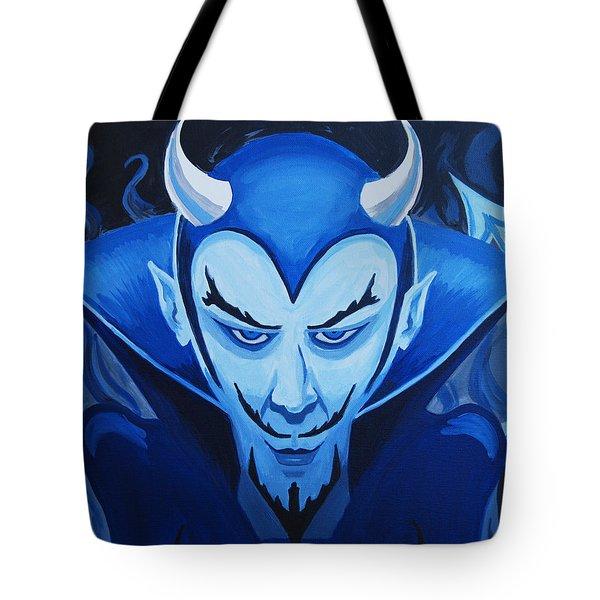 Devil Who Is Blue Tote Bag