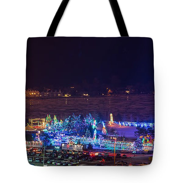 Duluth Christmas Lights Tote Bag by Paul Freidlund