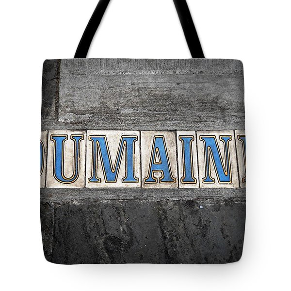 Dumaine Tote Bag