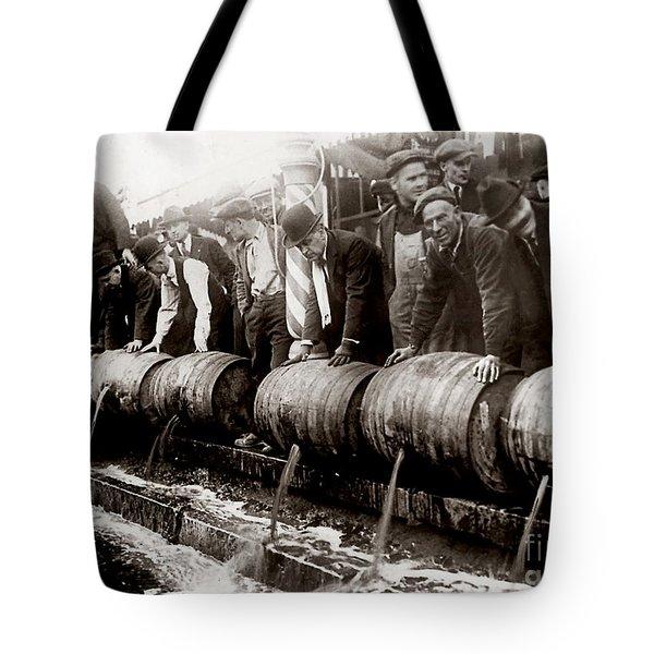Dump The Beer Tote Bag by Jon Neidert