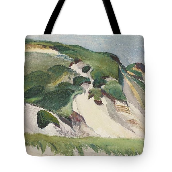 Dune At Truro Tote Bag by Edward Hopper