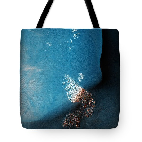 Dune Field Of Russell Crater In The Chalcoporos Rupes Region In Mars Tote Bag