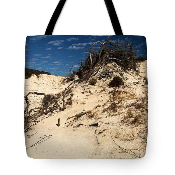 Dune Glue Tote Bag by Adam Jewell