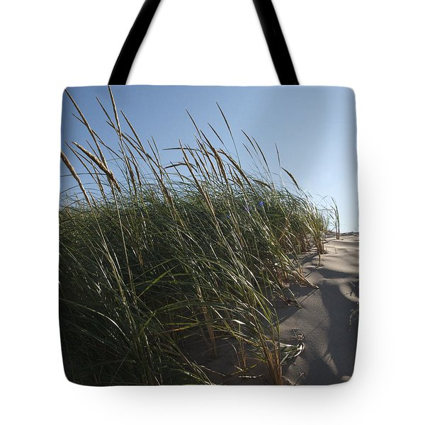 Dune Grass Tote Bag by Tara Lynn