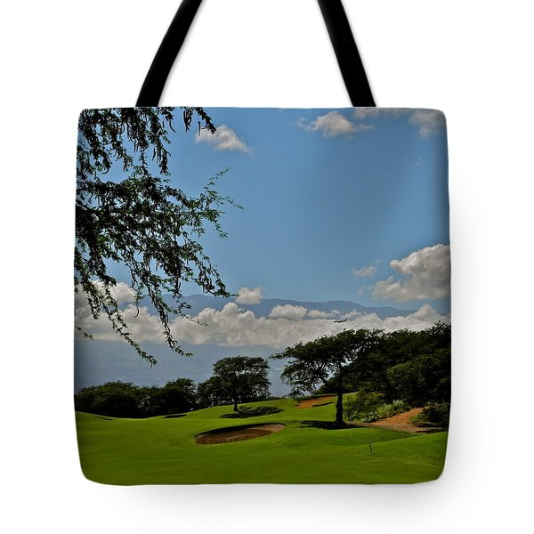 Dunes Of Maui Lani 14th Fairway Tote Bag