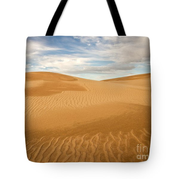 Dunescape Tote Bag by Alice Cahill
