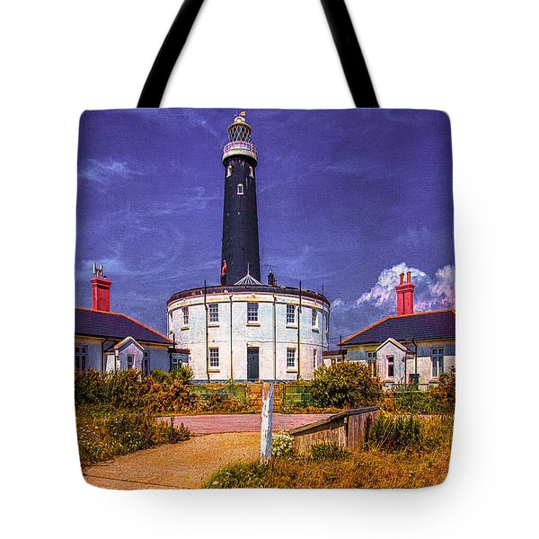Tote Bag featuring the photograph Dungeness Old Lighthouse by Chris Lord
