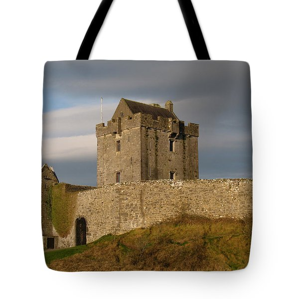 Dunguire Castle Tote Bag by Kathleen Scanlan