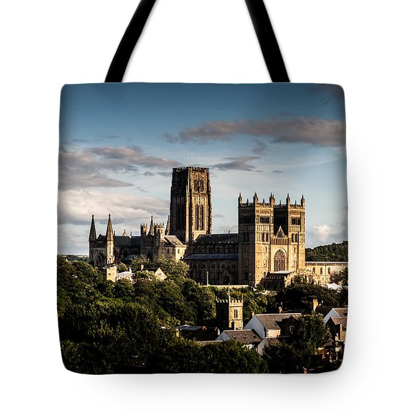 Tote Bag featuring the photograph Durham Cathedral by Matt Malloy