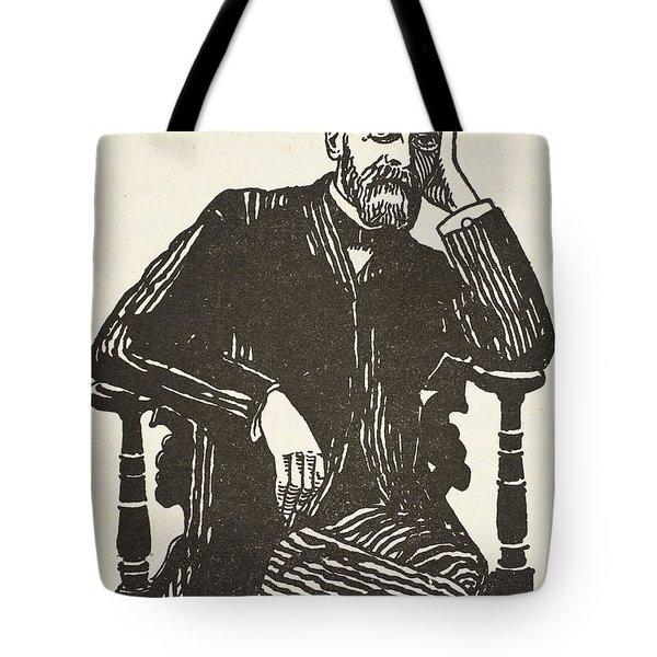 Emile Durkheim Tote Bag