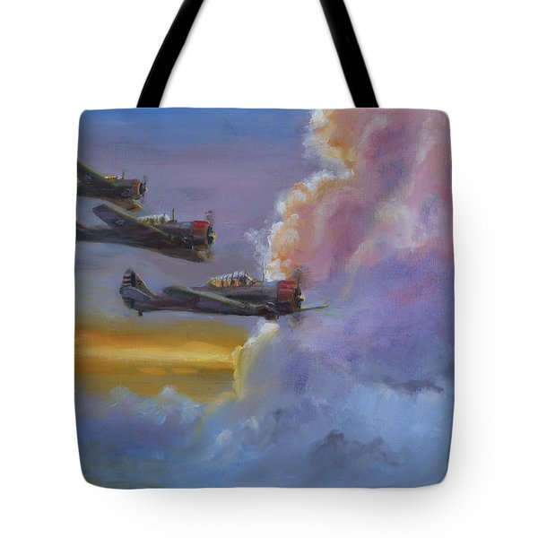 Dusk Flight Tote Bag by Christopher Jenkins
