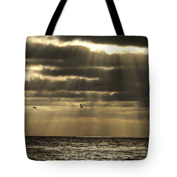 Dusk On Pacific Tote Bag
