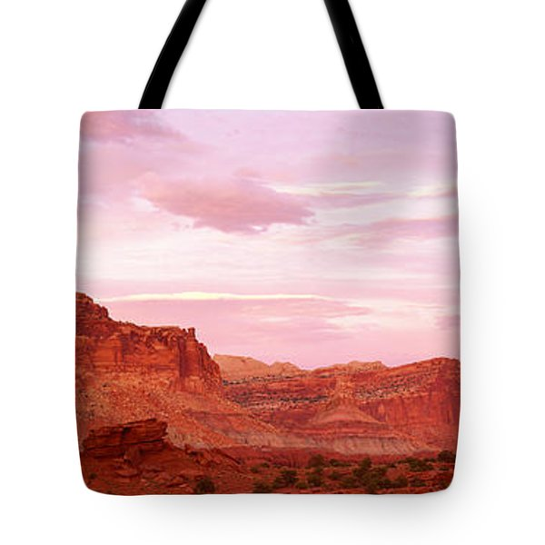 Dusk Panorama Point Capital Reef Tote Bag