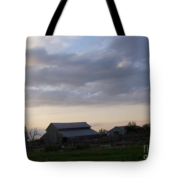 Tote Bag featuring the photograph Dusk To Dawn by Bobbee Rickard