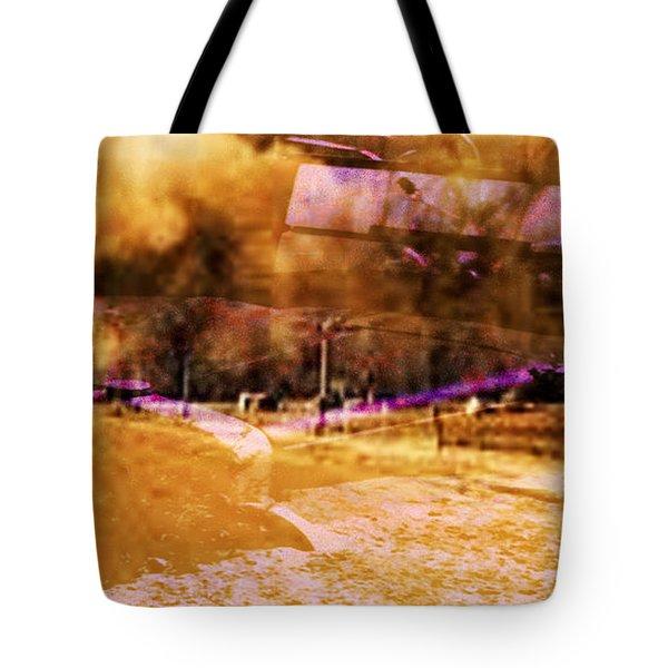 Dust Bowl Tote Bag by Elizabeth McTaggart