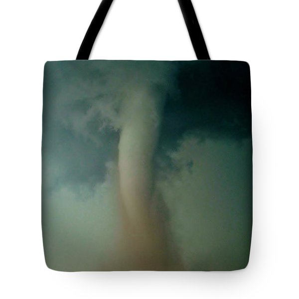 Tote Bag featuring the photograph Dust Eating Tornado by Ed Sweeney