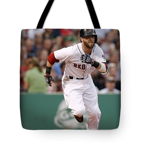 Dustin Pedroia Tote Bag