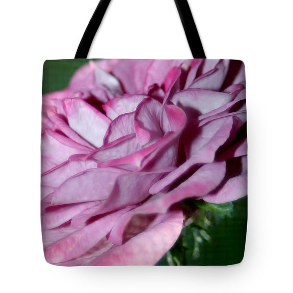 Dusty Rose Tote Bag by Barbara S Nickerson