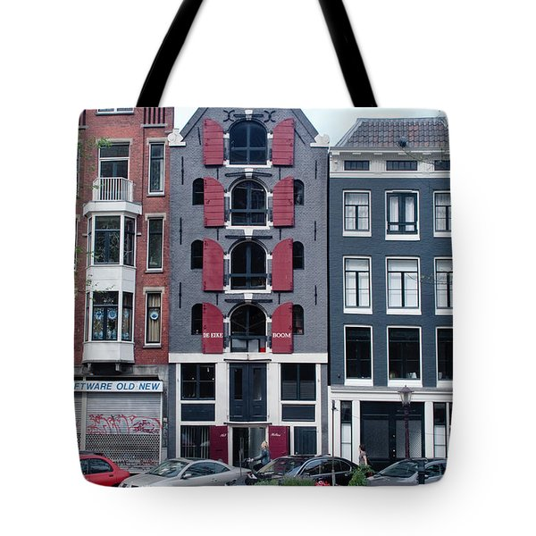 Dutch Canal House Tote Bag