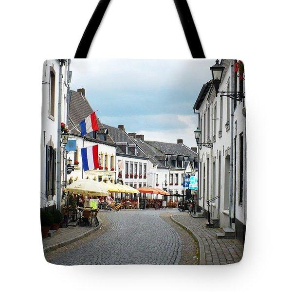 Dutch Cityscape - Thorn Tote Bag by Carol Groenen