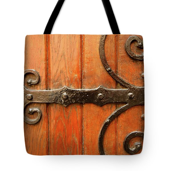 Tote Bag featuring the photograph Dutch Hinge by KG Thienemann