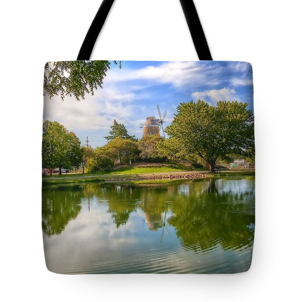 Tote Bag featuring the photograph Dutch Mill  by Liane Wright