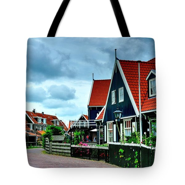 Tote Bag featuring the photograph Dutch Village by Joe  Ng