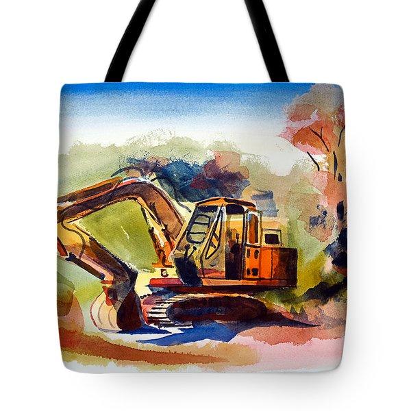Duty Dozer II Tote Bag by Kip DeVore