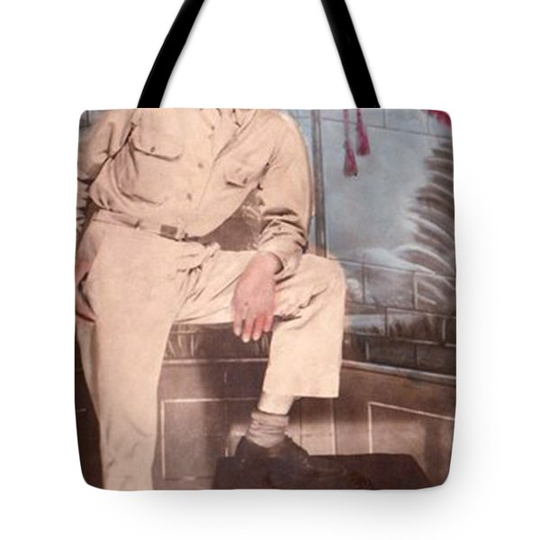 Duty To God And Country Tote Bag
