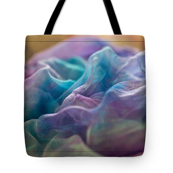 Dyed Silk Tote Bag by Liz  Alderdice