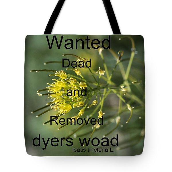 Dyers Woad Tote Bag