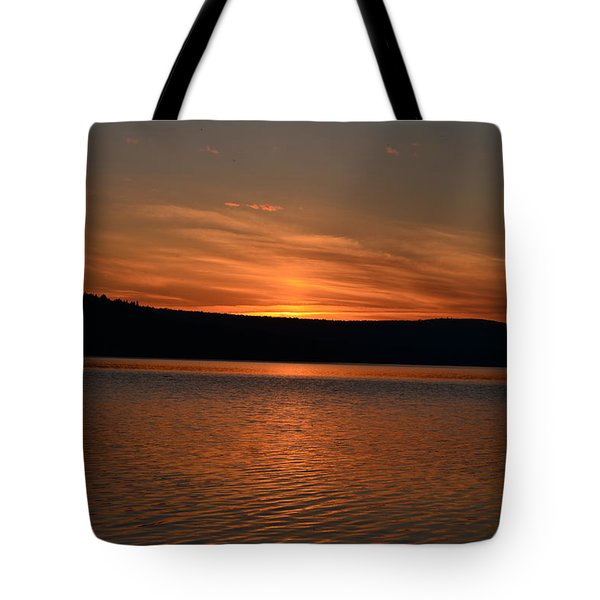 Dying Breath Of The Day Tote Bag
