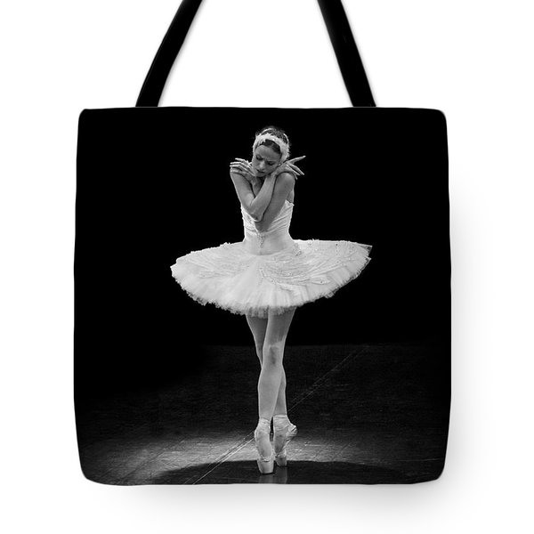Dying Swan 5. Tote Bag by Clare Bambers