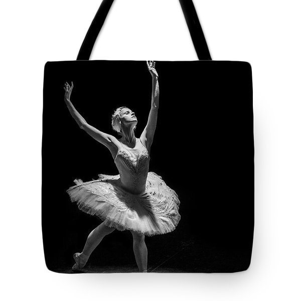 Dying Swan 6. Tote Bag by Clare Bambers