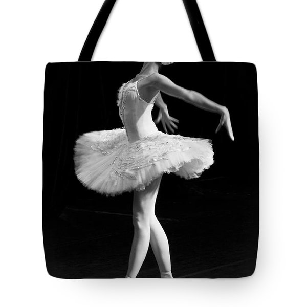 Dying Swan I. Tote Bag by Clare Bambers