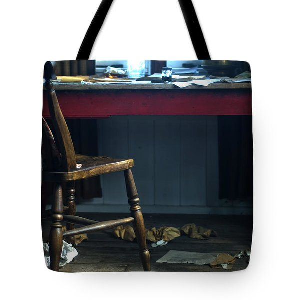 Dylan Thomas Writing Shed Tote Bag