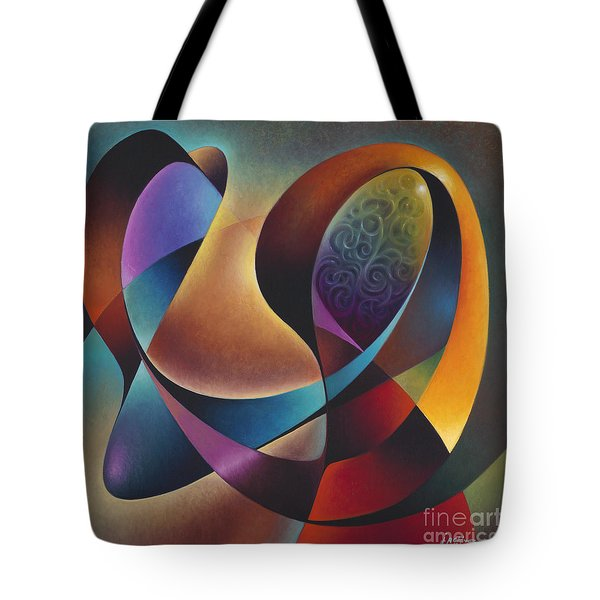 Dynamic Series #13 Tote Bag by Ricardo Chavez-Mendez