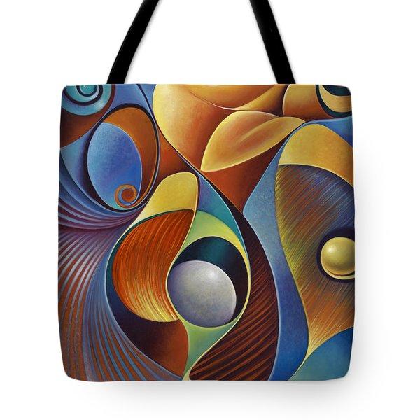Dynamic Series #22 Tote Bag by Ricardo Chavez-Mendez
