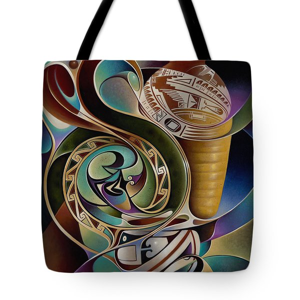 Dynamic Still I Tote Bag