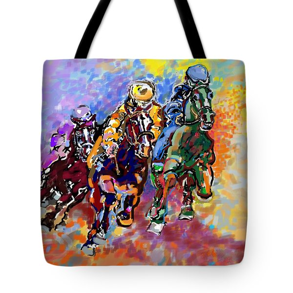Dynamic Winner Tote Bag by Mary Armstrong