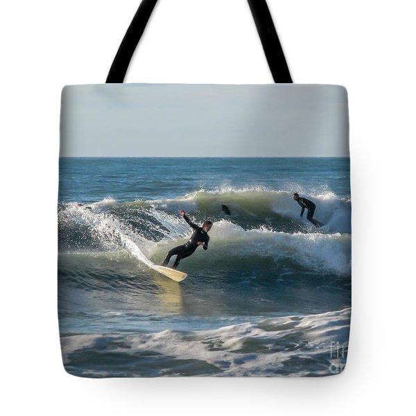 Dynamical Enjoyment Tote Bag