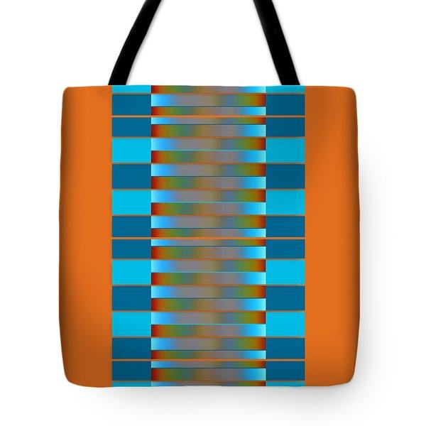 Tote Bag featuring the digital art Dynamics Fete 1b by Darla Wood