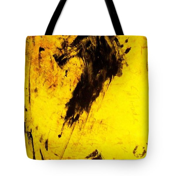 Tote Bag featuring the painting Dynamo  by Lesley Fletcher