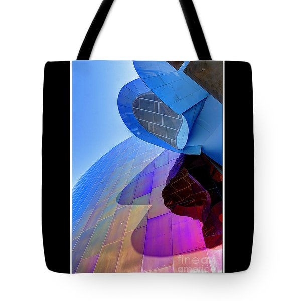 E M P Abstract Tote Bag by Chris Anderson