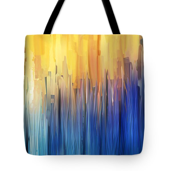 Each Day Anew Tote Bag