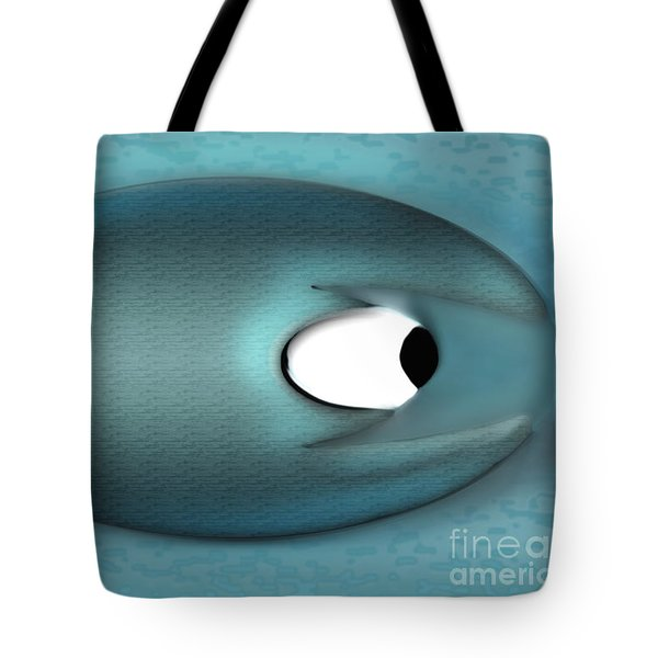 Eagerman Blue Tote Bag