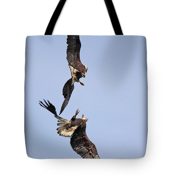 Eagle Ballet Tote Bag by Randy Hall